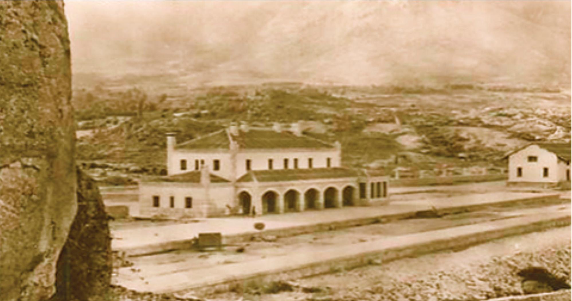 Foto antigua Bustarviejo años 50