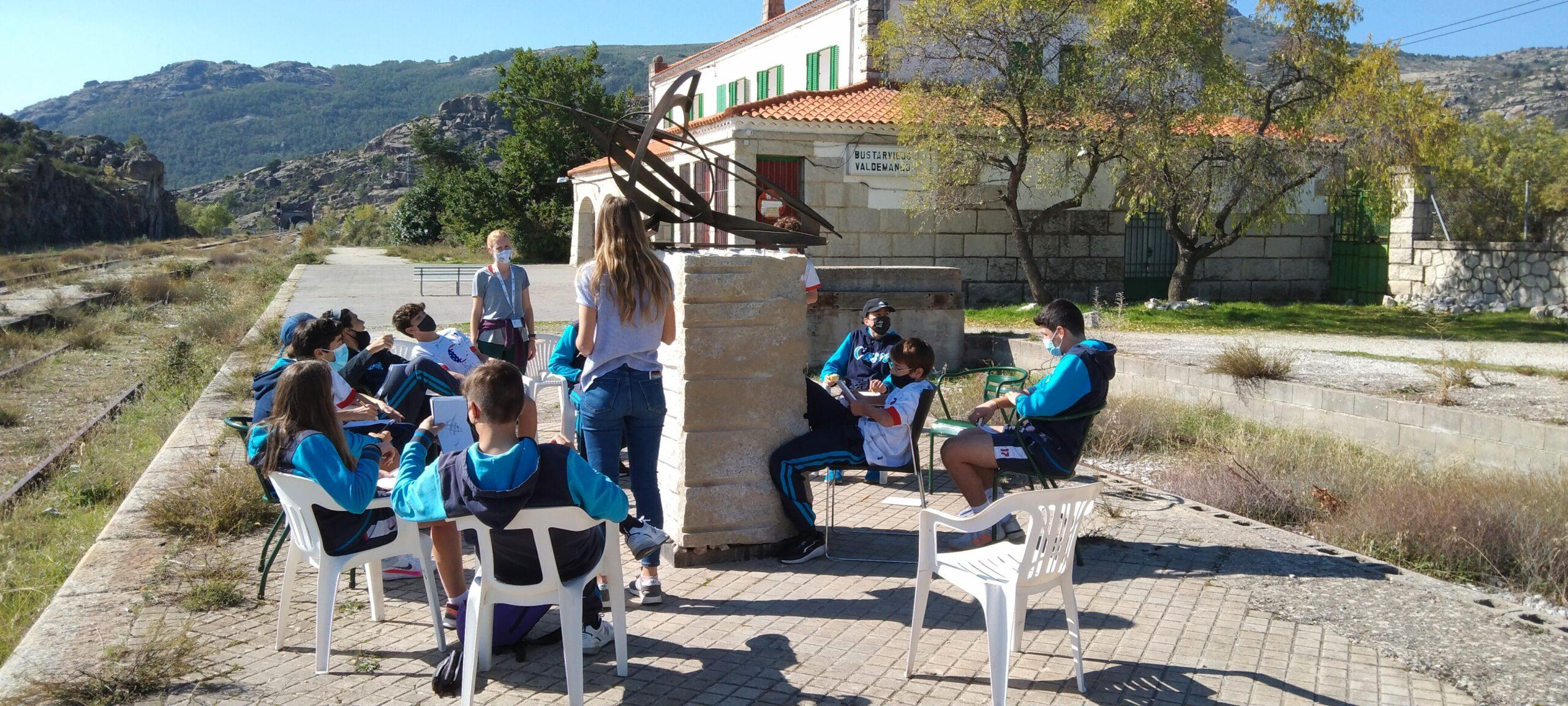 Visita colegio Casvi Tres Cantos